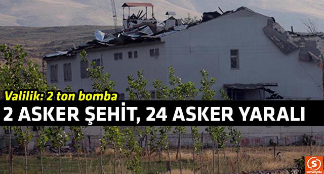 PKK'lılar bomba yüklü traktörle karakola saldırdı