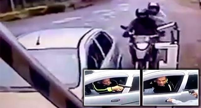 Gözlerinin yaşına bakmayan polis, bir şarjörü boşalttı