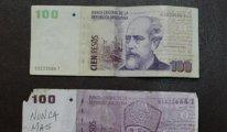 Kalpazanlar, Atatürk resmini Arjantin Pesosu'na bastı
