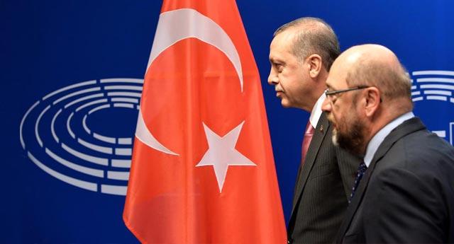 'AP'nin basın ile ilgili endişelerini Erdoğan'a ilettim'