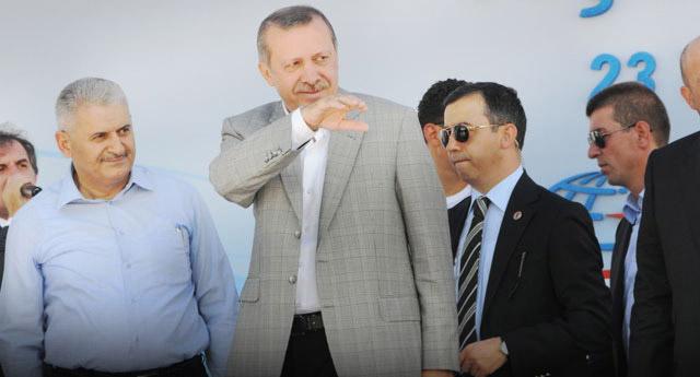 Erdoğan'a Brüksel'de salon şoku