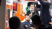 Miting dönüşü kaza: 23 polis yaralandı