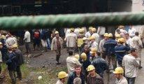Maden ocağında yangın çıktı