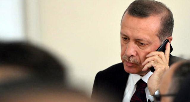 Erdoğan'ın telefonuna çıkmadı