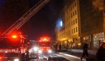 Özel Haliç Üniversitesi'nde korkutan yangın