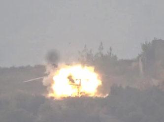 Acil iniş yapan Rus helikopterini vurdular
