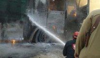 Türkiye sınırında insani yardım konvoyunu vurdular