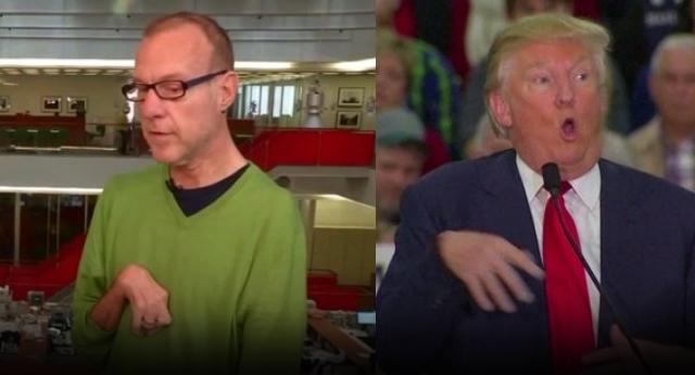 Donald Trump'tan çirkin hareket - izle
