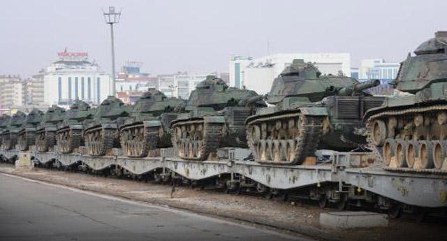 Trakya'dan Güneydoğu'ya tank sevkıyatı