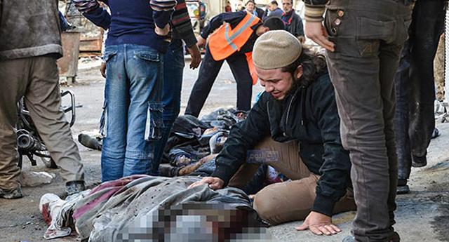 40 kişi öldü 60 kişi yaralandı