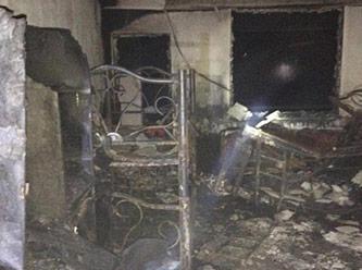 Kur'an kursunda yangın felaketi