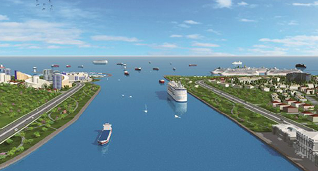 'Kanal İstanbul için 5 alternatif güzergah var'