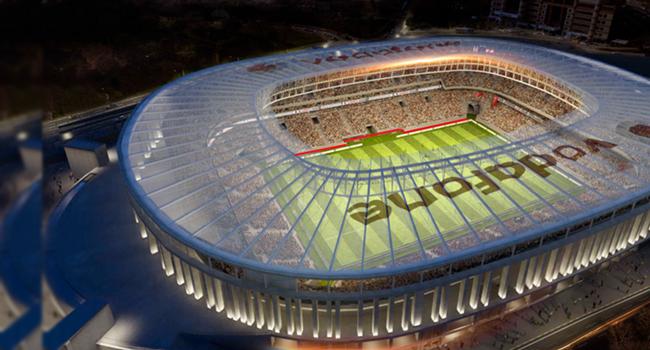 Vodafone Arena'nın duygulandıran tanıtımı