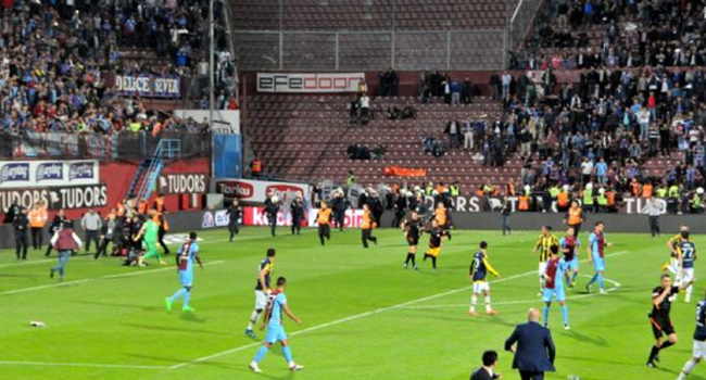 TFF, Trabzon'daki olaylı maç hakkında kararını verdi