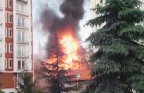 Kütahya'da 3 katlı mağazada patlama!