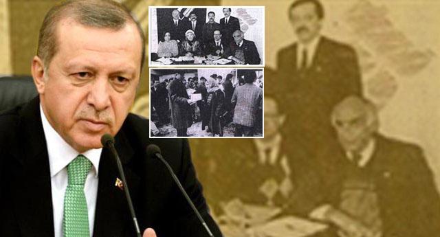 Erdoğan 'Özal'dan kurtulmak için bildiri dağıtmış
