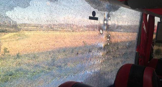 Ankara'da 3 yolcu otobüsüne silahlı saldırı!