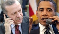 Erdoğan'la Obama telefonda görüştü