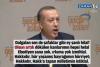 Başbakan da İstiklal Marşı'nı yanlış okumuş