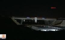 Türkiye'de bir ilk: 'Patlayıcılarla köprü yıkma' -video