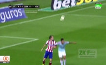 İspanya'da inanılmaz bir gol! Ibrahimovic'e özendi -video