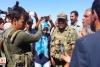 Gülten Kışanak asker ile tartıştı