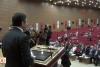 Öğrenciler kürsüye çıkan Bakan'a büyük şok yaşattı