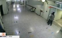 Acil servisteki dehşet anı güvenlik kamerasında! -video