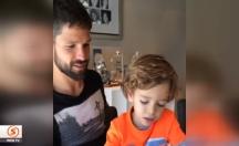 Diego'nun oğlu Davi, Türkçe öğreniyor -video