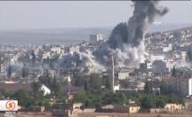 IŞİD'e atılan bombalar havada ilk defa görüntülendi! -video