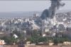 IŞİD'e atılan bombalar havada ilk defa görüntülendi!