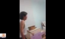 Futbolcularla fotoğraf çektiremeyen çocuğun isyanı -video