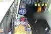 Hindistan'daki hırsız vahşeti an be an kamerada!