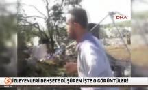 Suriye helikopteri İdlib'de mülteci kampında böyle katliam yaptı! -video