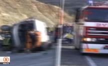 Isparta'daki kazadan ilk görüntüler! -video