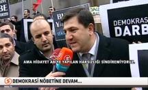 Demokrasi nöbetii tutan vatandaşlar yine ayaktaydı! -video
