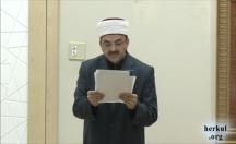 Cuma Hutbesi: Yolsuzluklarla Mücadele Haftası (17-25 Aralık) -video