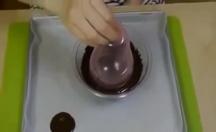 Balondan çikolata kaseleri -video
