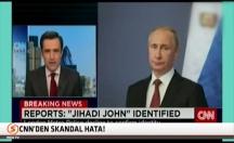 IŞİD militanı yerine Putin resmi yayınlandı! -video