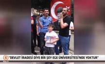 Fırat Çakıroğlu'nun Ege Üniversitesi önündeki konuşması! -video