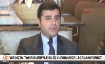 Selahattin Demirtaş'tan Bülent Arınç'a çağrı! -video