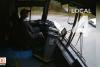 Otobüs sürücüsü uyuya kalınca ortalık savaş alanına döndü!