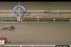 At yarışında dehşete düşüren görüntüler