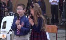 Şiir okuyan minik öğrenci gülme krizine girdi -video