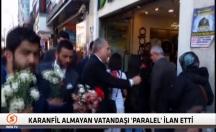 Metin Külünk, karanfil almayan vatandaşı 'paralel' ilan etti -video