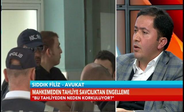 Sıddık Filiz'den Ersan Şen'e tahliye cevabı