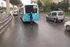 Patenli gencin trafikteki tehlikeli yolcuğu kamerada