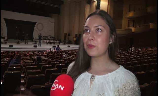 Uluslararası Dil ve Kültür Festivali'inde son provalar yapıldı