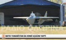 Batık Yunanistan da kendi uçağını yaptı -video