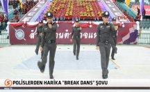 Polislerden süper 'Break dans' şovu! -video